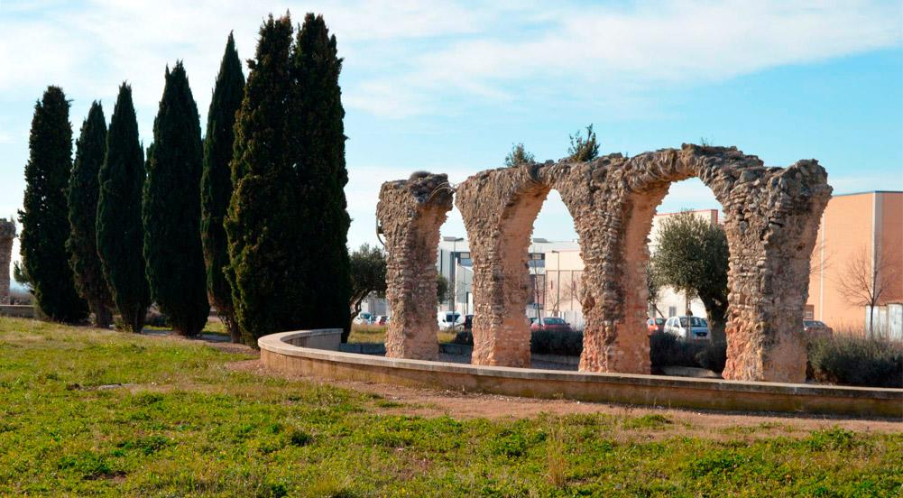 Sant-Jaume-dels-domenys---aqueducte-roma