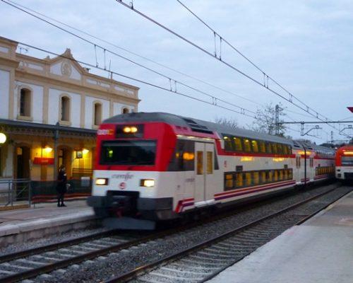 estació Calafell